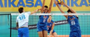 Словения vs Нидерланды. Волейбол, мировая лига. «Финал четырех»