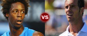 ATP Истборн: Ришар Гаске vs Гаэль Монфис