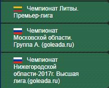 Футбольные чемпионаты России