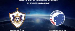 Плей-офф Лиги чемпионов УЕФА: Карабах против Копенгагена