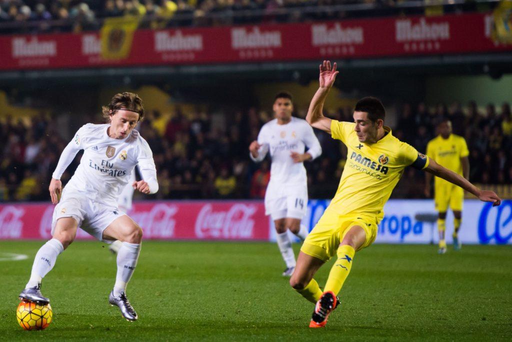 Лука Модрич Реал Мадрид против Вильярреала