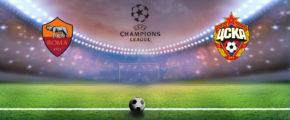 Рома — ЦСКА. Прогноз на матч Лиги Чемпионов 23.10.18