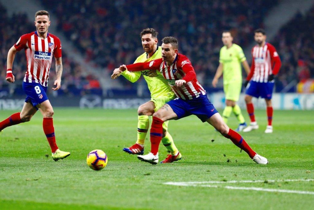Сауль Атлетико Мадрид