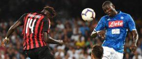 Милан — Наполи. Прогноз на матч Серии А. 26.01.2019