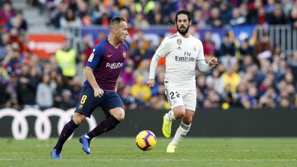 Артур против Иско. Барселона против Реала