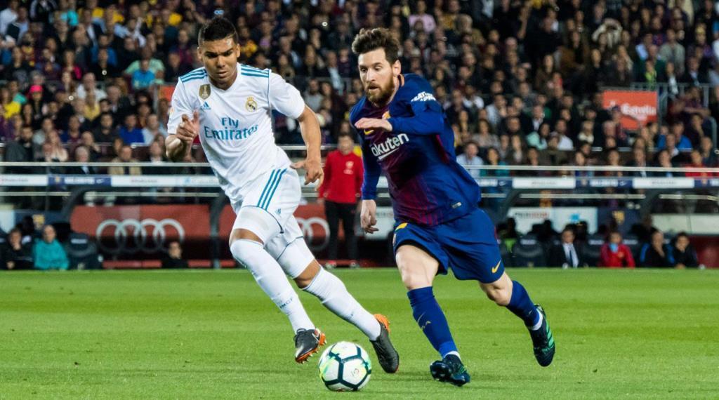 Лионель Месси против Каземиро. Барселона vs Реал Мадрид