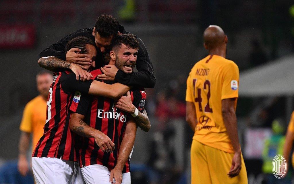 Радость футболистов Милана